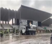 فيديو.. محافظ القاهرة يتابع شفط مياه الأمطار في مدينة نصر