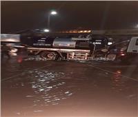 انتشار سيارات التعامل مع مياه الأمطار بالقاهرة والجيزة والقليوبية