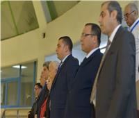 «ذوو القدرات والهمم» تُحيي حفل افتتاح البطولة العربية الأولي للكرة الطائرة