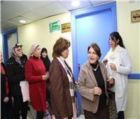 القومي للمرأة ينظم زيارة إلى مستشفى أبو الريش
