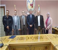 توقيع برتوكول تعاون بين أكاديمية الأميرة فاطمة وطب جامعة سوهاج