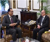 رئيس الوزراء يلتقي سفير قبرص بالقاهرة