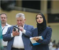 الشيخة فاطمة بنت هزاع تطلق بطولة الفروسية لقفز الحواجز بالإمارات