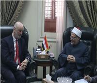 مفتي الجمهورية يستقبل السفير الإسباني بالقاهرة لبحث جهود التعاون