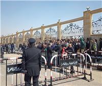 جنازة مبارك| طوق أمني وحراسة مشددة أمام مسجد المشير لتشييع جثمان الرئيس الأسبق