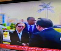 جنازة مبارك| السيسي يعزي «سوزان» في وفاة الرئيس الأسبق