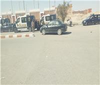 إصابة تلميذين باختناق في حريق بجوار مدرسة بقنا