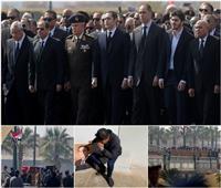 فيديو وصور| وداع تاريخي.. 10 مشاهد من «جنازة مبارك» باقية في وجدان المصريين