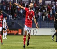 إصابة وليد سليمان خلال مران الأهلي قبل مباراة صن داونز