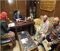 محافظ المنوفية يوجه بدراسة موقف الوحدة الصحية لقرية بوهه في أشمون