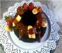 حلو اليوم| طريقة «كيكة الموز بالشوكولاتة»