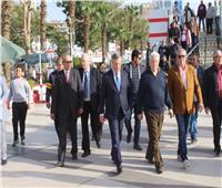 رئيس الزمالك لوفد الترجي التونسي: نتمنى أن تخرج المباراة في أفضل مظهر