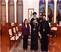 البابا تواضروسيستقبل كاهن كنيسة بجزر فيجي