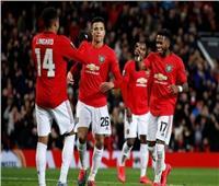 فيديو| «يونايتد» يسحق بروج بخماسية ويتأهل لثمن نهائي الدوري الأوروبي