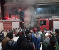 إصابة حارس عقار في حريق بطنطا