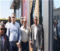 وزير السياحة والآثار يفتتح البوابات الجديدة لمعبد الأقصر