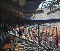 جماهير الزمالك تبدأ الزحف لاستاد القاهرة استعدادًا لمواجهة الترجي | صور