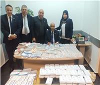 إحباط محاولة تهريب كمية من الأدوية البشرية بمطار القاهرة