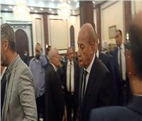 وزير الدفاع يصل عزاء الرئيس الأسبق «مبارك»