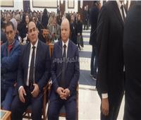 محافظ القاهرة يصل عزاء «مبارك»