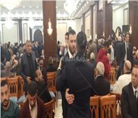 عماد متعب يقدم واجب العزاء في وفاة «مبارك»
