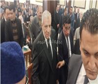 محلب يصل عزاء الرئيس الأسبق «مبارك»