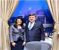 صور..وزيرة التعاون الدولي تبحث مع الكونجرس الأمريكي المساعدات الاقتصادية لمصر