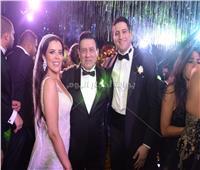 صور| نجوم الرياضة والإعلام يحتفلون بزفاف ابنة مدحت شلبي