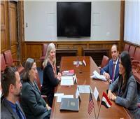 «المشاط» تناقش مع نائبة وزير التجارة الأمريكي تنويع التعاون في القطاعات الاقتصادية