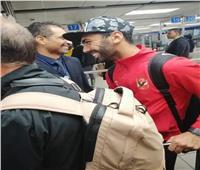 صور| وصول بعثة فريقي الأهلي وصن داونز إلى مطار جوهانسبرج