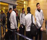 الأهلي يؤدي مرانه الأول بجنوب إفريقيا في فندق الإقامة