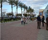 صور.. وصول سفينة سياحية من اليونان لميناء الإسكندرية «خالية من كورونا»