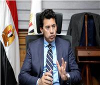 حوار| وزير الشباب: توجيه رئاسي متواصل بضرورة الاهتمام بالرياضة