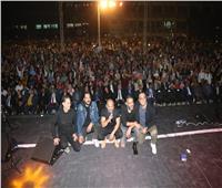 12 ألف شاب يحضرون حفل «مسار إجباري» بجامعة جنوب الوادي