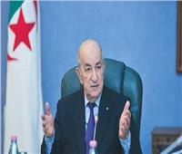 الرئيس الجزائري يبحث تعديل الدستور مع رئيس حزب حركة البناء الوطني
