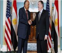 وزير الخارجية سامح شكري ونظيره الأمريكي يتباحثان هاتفياً