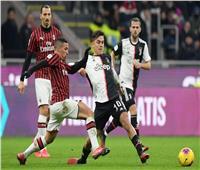 رسميًا.. تأجيل قمة يوفنتوس وميلان في كأس إيطاليا
