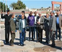 محافظ جنوب سيناء يتفقد أعمال إنشاء ملعب خماسي بنادي الشرطة