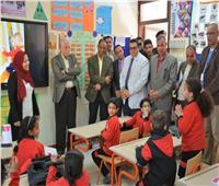 محافظ جنوب سيناء في زيارة للمدرسة المصرية اليابانية بطور سيناء