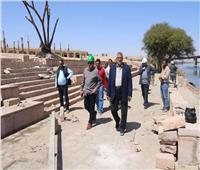 63 فيلا وممشي سياحي.. تعرف على تفاصيل مشروع الشريط النهري في أسوان