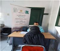 الكشف الطبي على 492 حالة خلال قافلة لمصر الخير بالمنيا