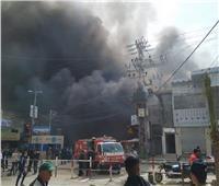 مصرع 9 فلسطينيين في حريق ضخم بأحد المخابز في غزة