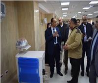 نائب محافظ المنيا يتابع سير العمل بعدد من المشروعات بملوي