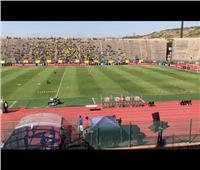 قبل مباراة صن داونز.. الأهلى يتفقد أرضية ملعب لوكاس موريبي