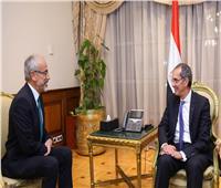 وزير الاتصالات يبحث مع رئيس «آيديميا» التعاون بمجالات الذكاء الاصطناعي