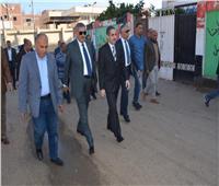 محافظ الغربية يتفقد المنشآت الخدمية بقرية أبوصير
