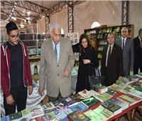 افتتاح المعرض السنوي للكتاب بجامعة السادات