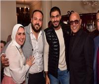 صور| أشرف عبدالباقي وخالد سليم في عقد قران الإعلامي هشام صلاح
