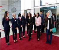 اليوم العالمي للمرأة| «القومي للمرأة» يزور متحف القوات الجوية