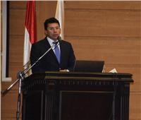أشرف صبحي يلتقى مديرى المدن الشبابية ومراكز التعليم المدني